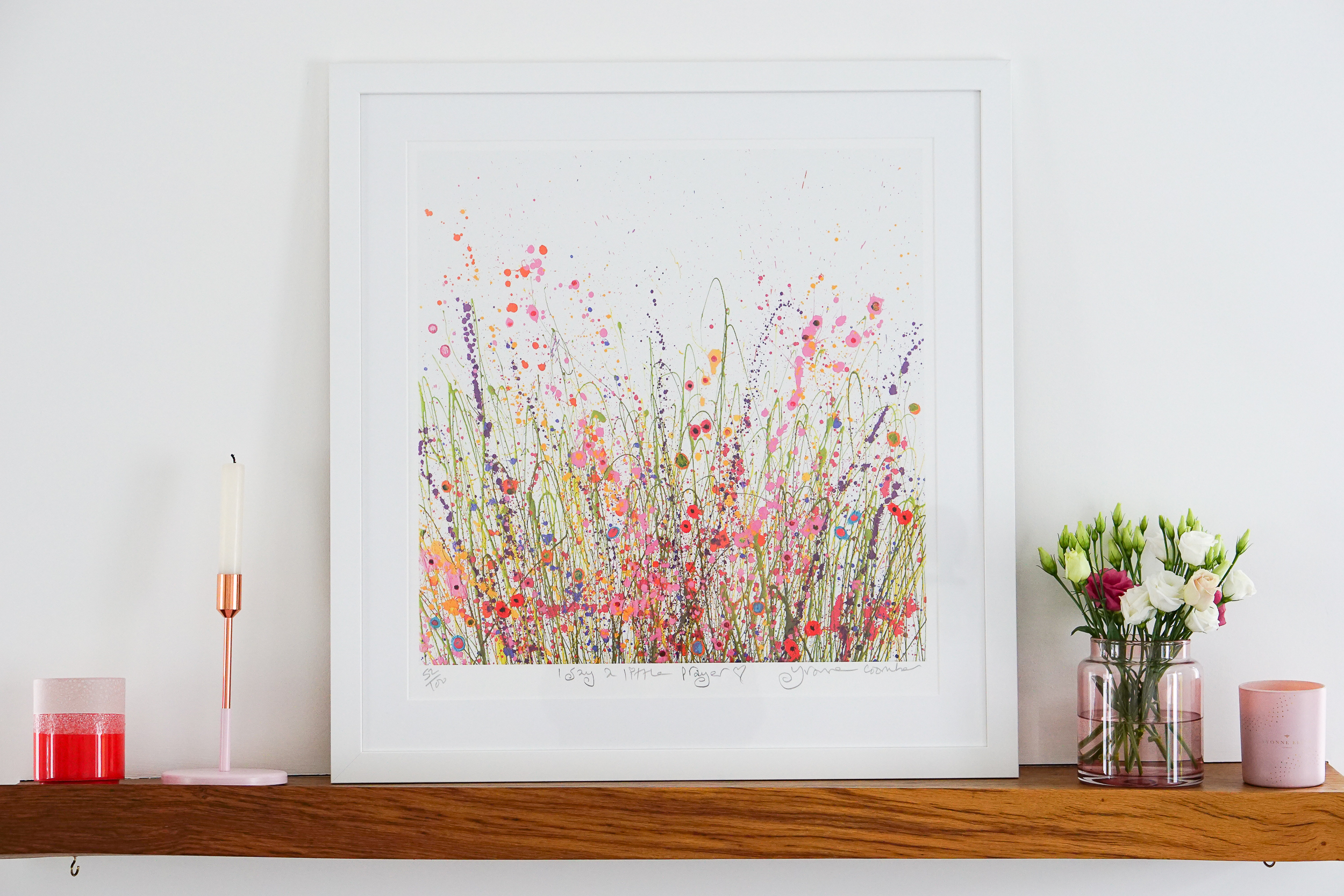 Infused with colour: meet Yvonne Coomber