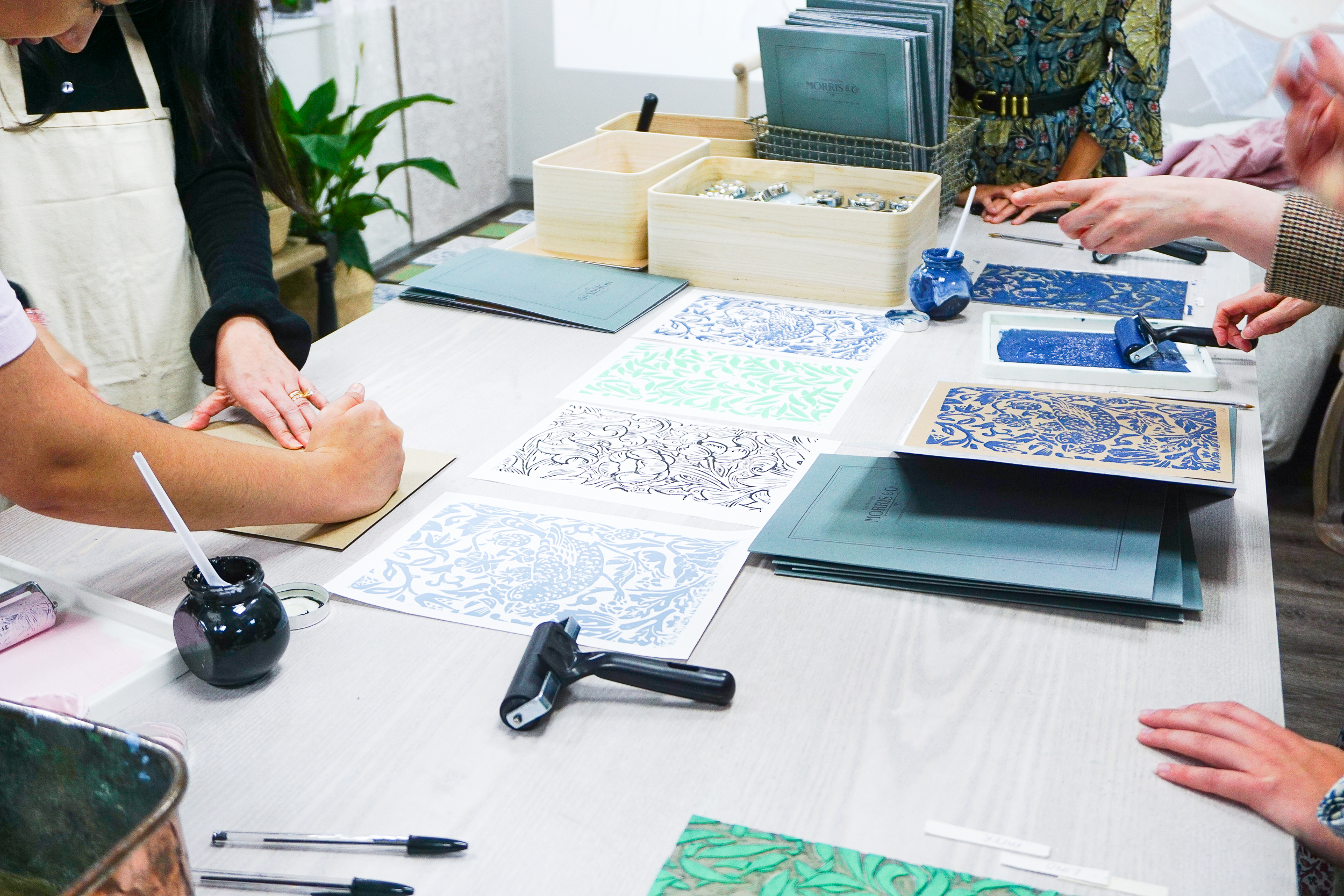 Behind the scenes at Morris & Co and the new Melsetter collection