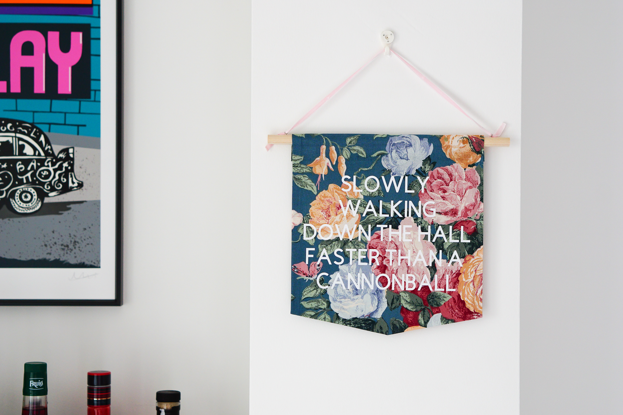 Because Liam loves florals - a floral tribute to the kings of Britpop