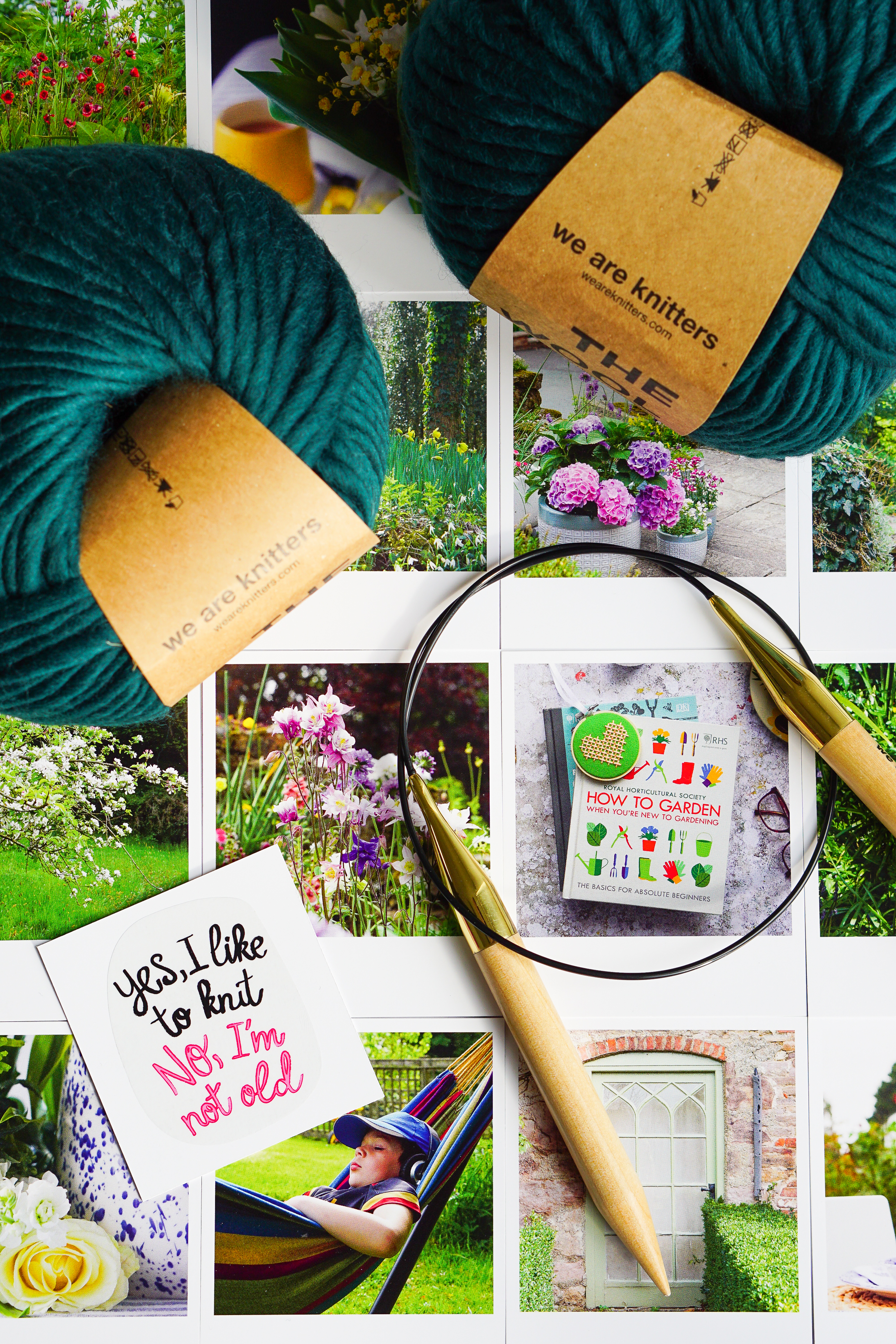 We Are Knitters blanket kit review