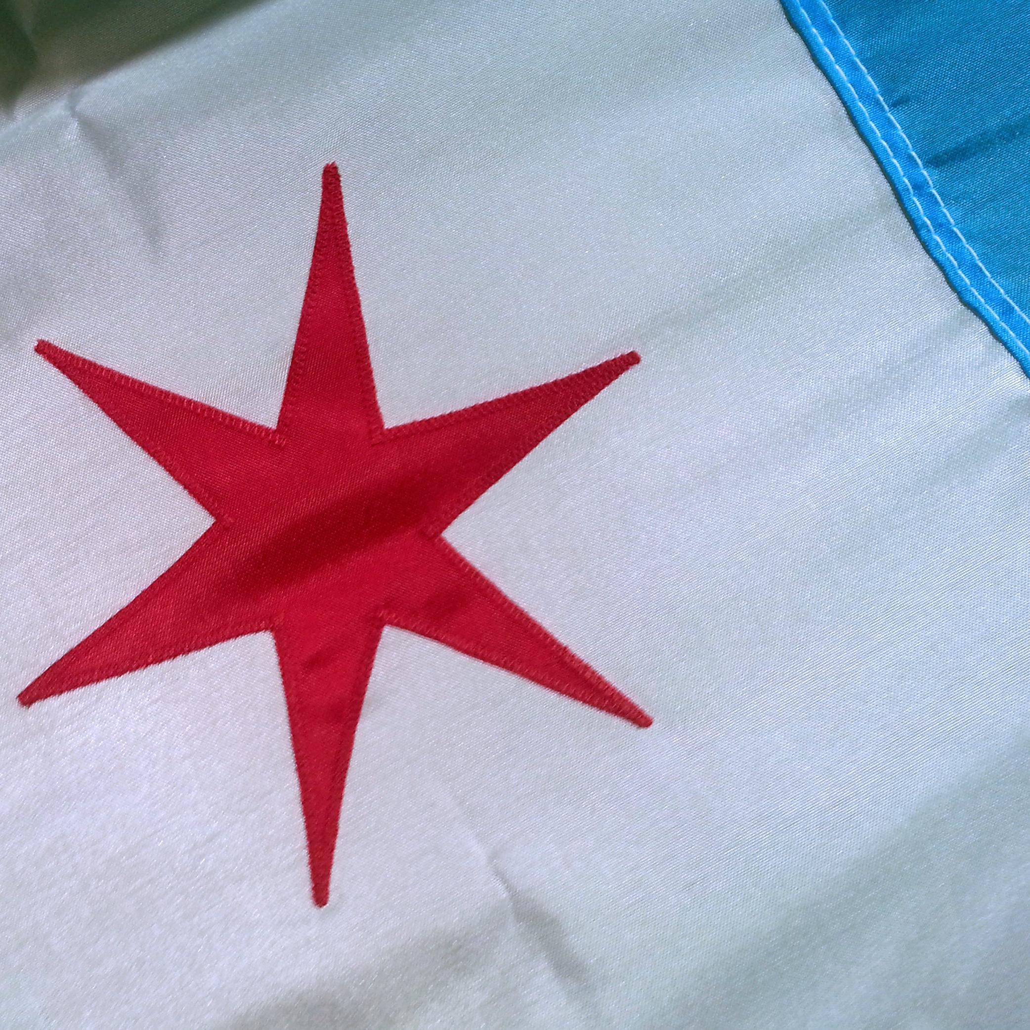 3'x5' Chicago Flag