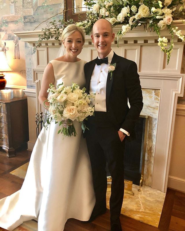 Congratulations to Betsie and James! We loved being a part of their entire weekend of festivities in Birmingham.  More details and pics in our stories! @betsiekennedy @jamesdowdkennedy
