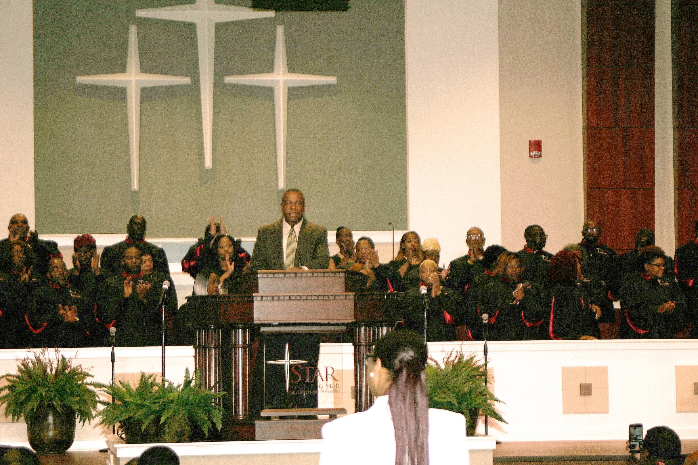 MORNING STAR BAPTIST CHURCH SANCTUARY