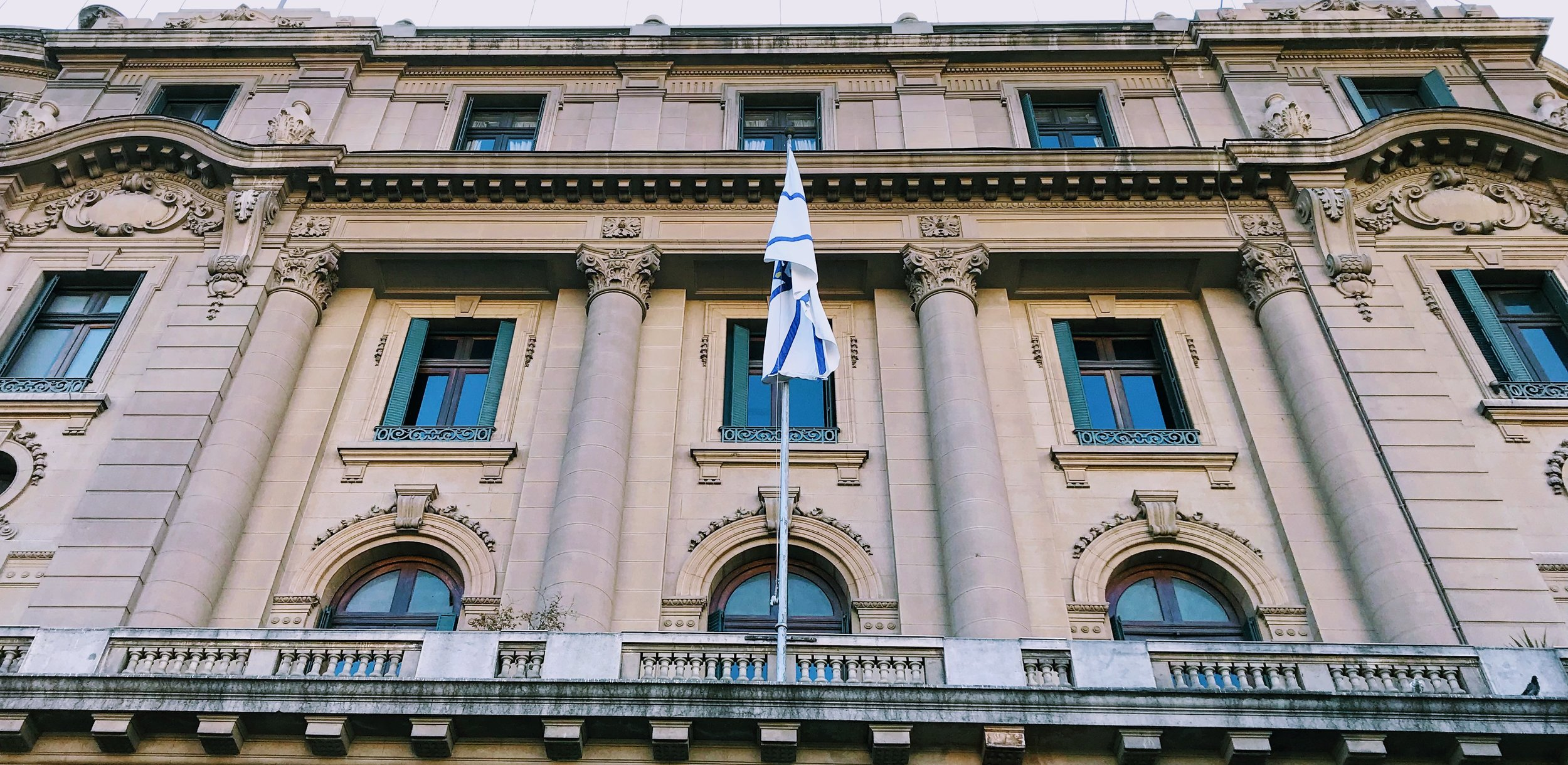 Historic building in Santiago, Chile