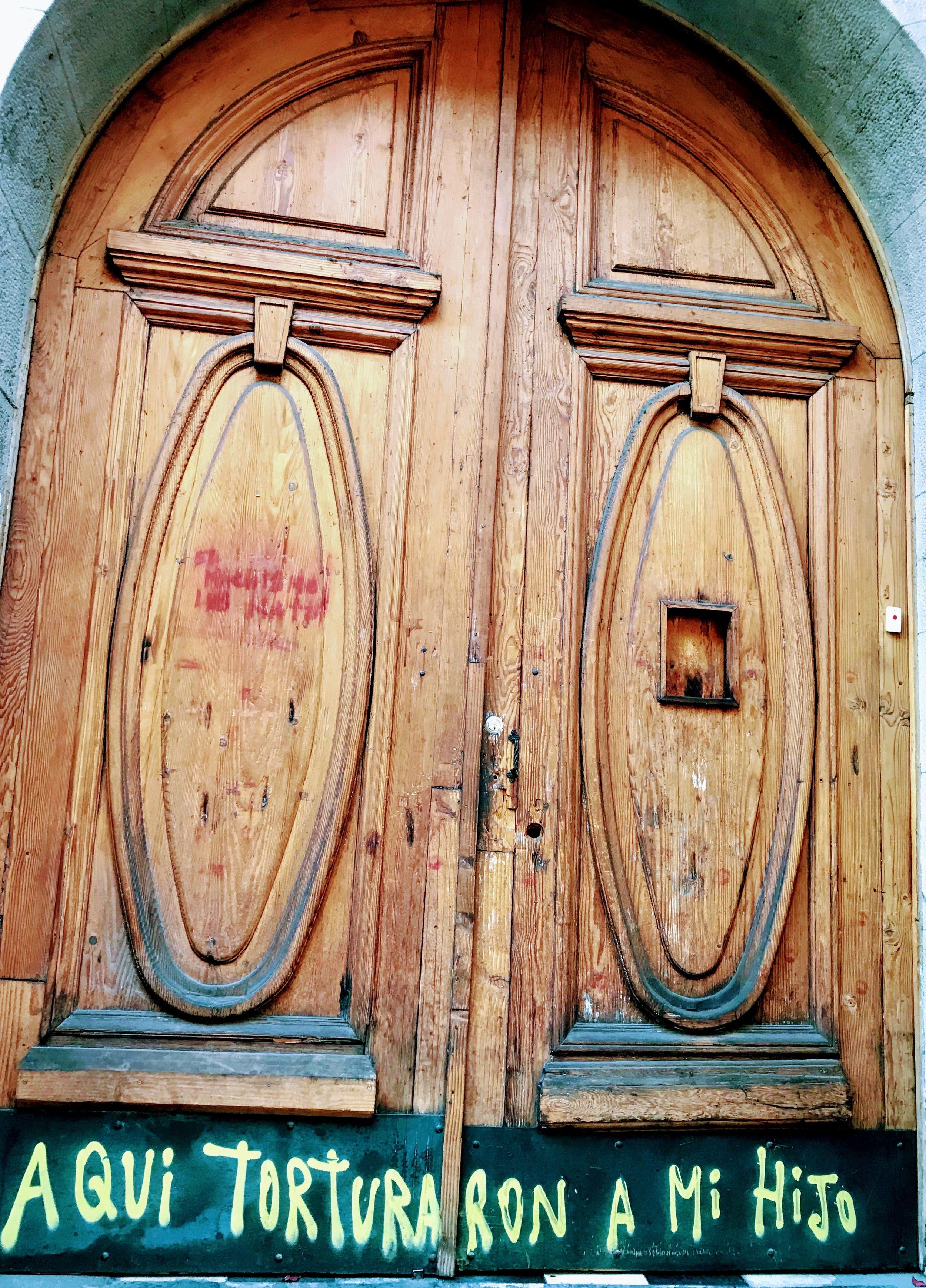 Located at Londres 38 in the Paris-Londres neighborhood, this was one of Pinochet's torture chambers.