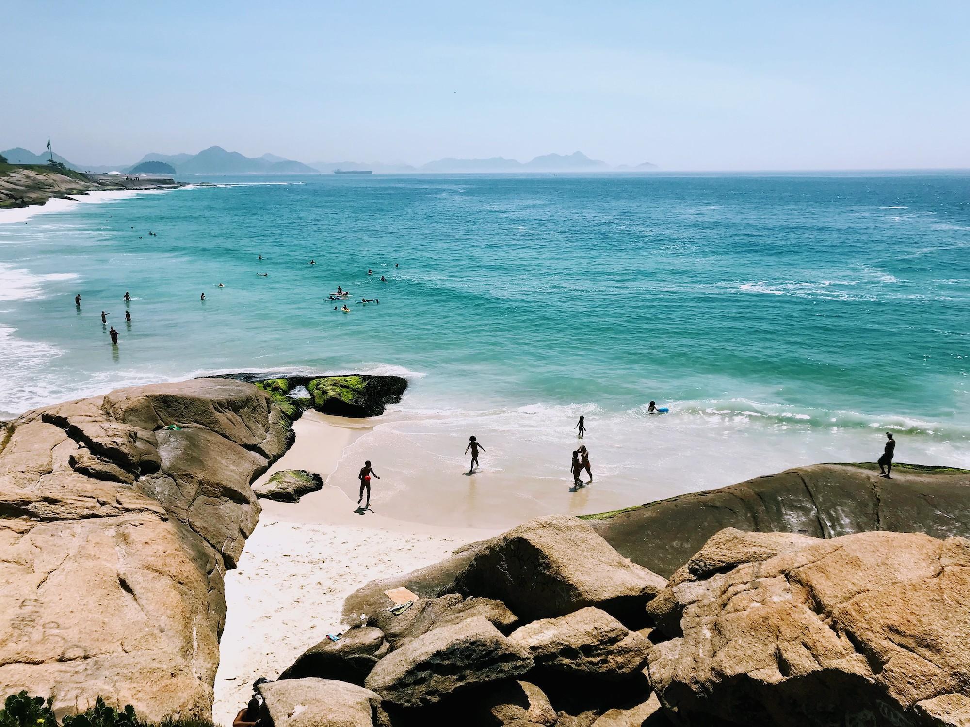 Arpoador Rock in Rio de Janeiro