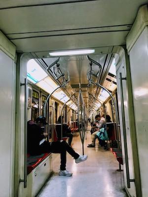 Metro in Santiago Chile