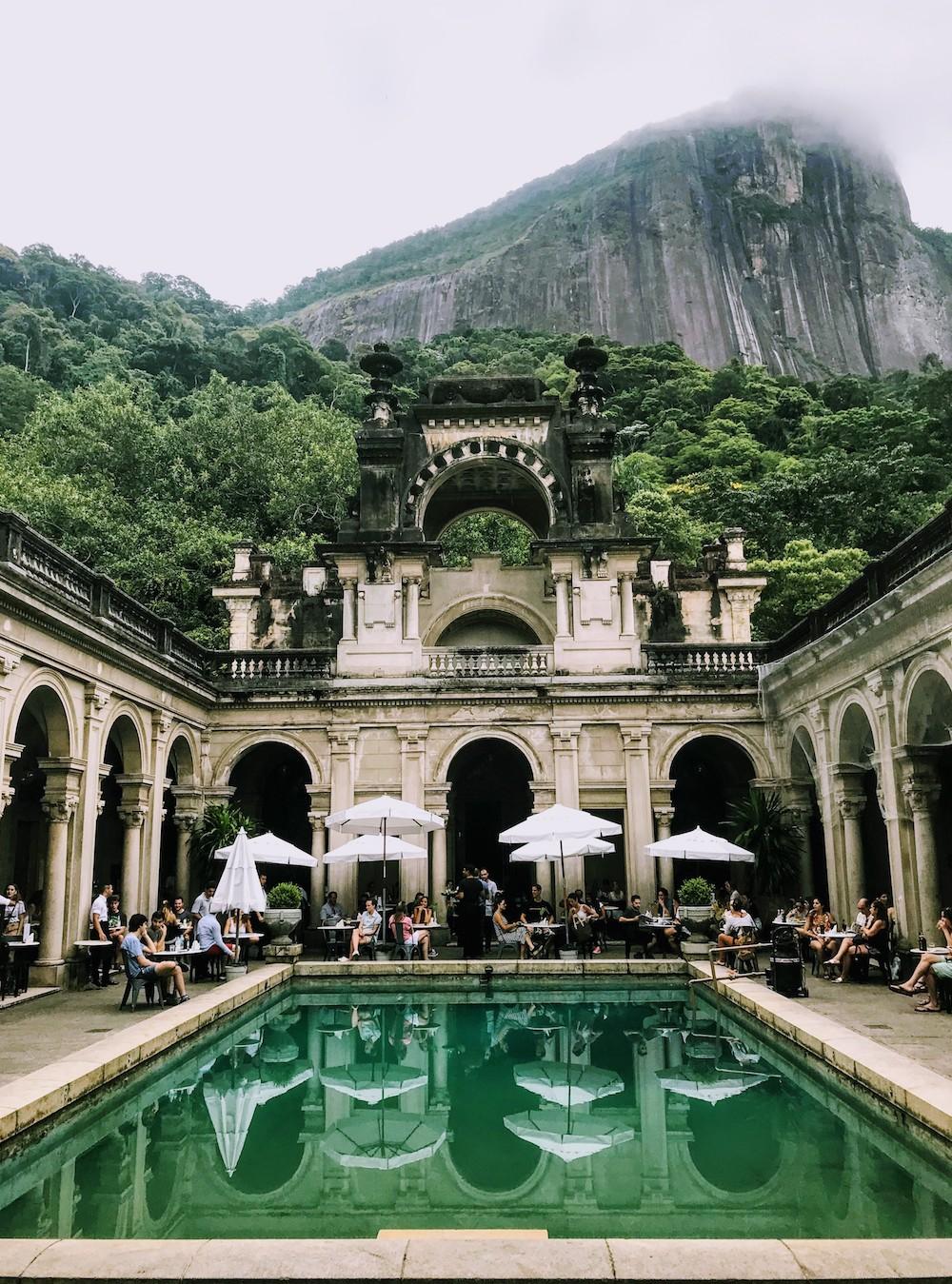 Plague Cafe in Rio de Janeiro, Brazil