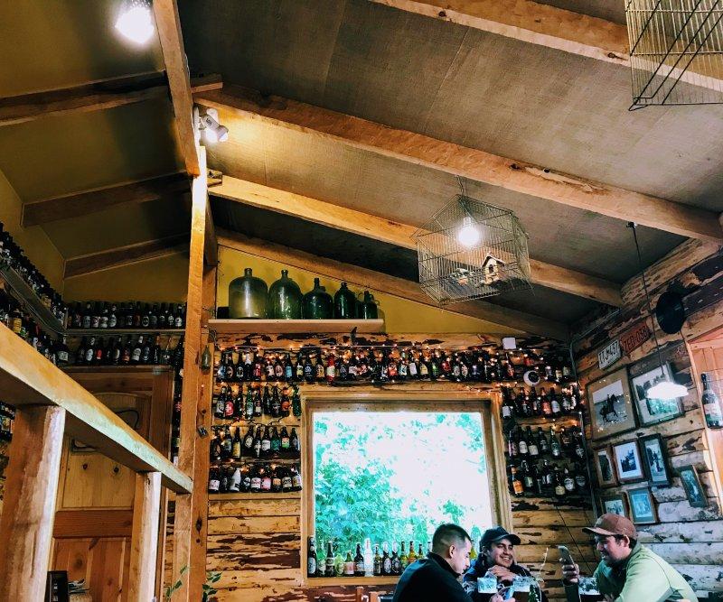 Taberna de D'Olbek brewery in Coyhaique, Chile