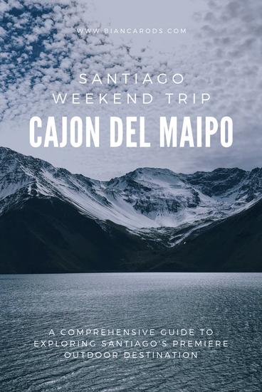 Cajon del Maipo Santiago Weekend Trip