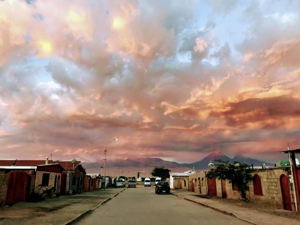 town of San Pedro de Atacama, Chile