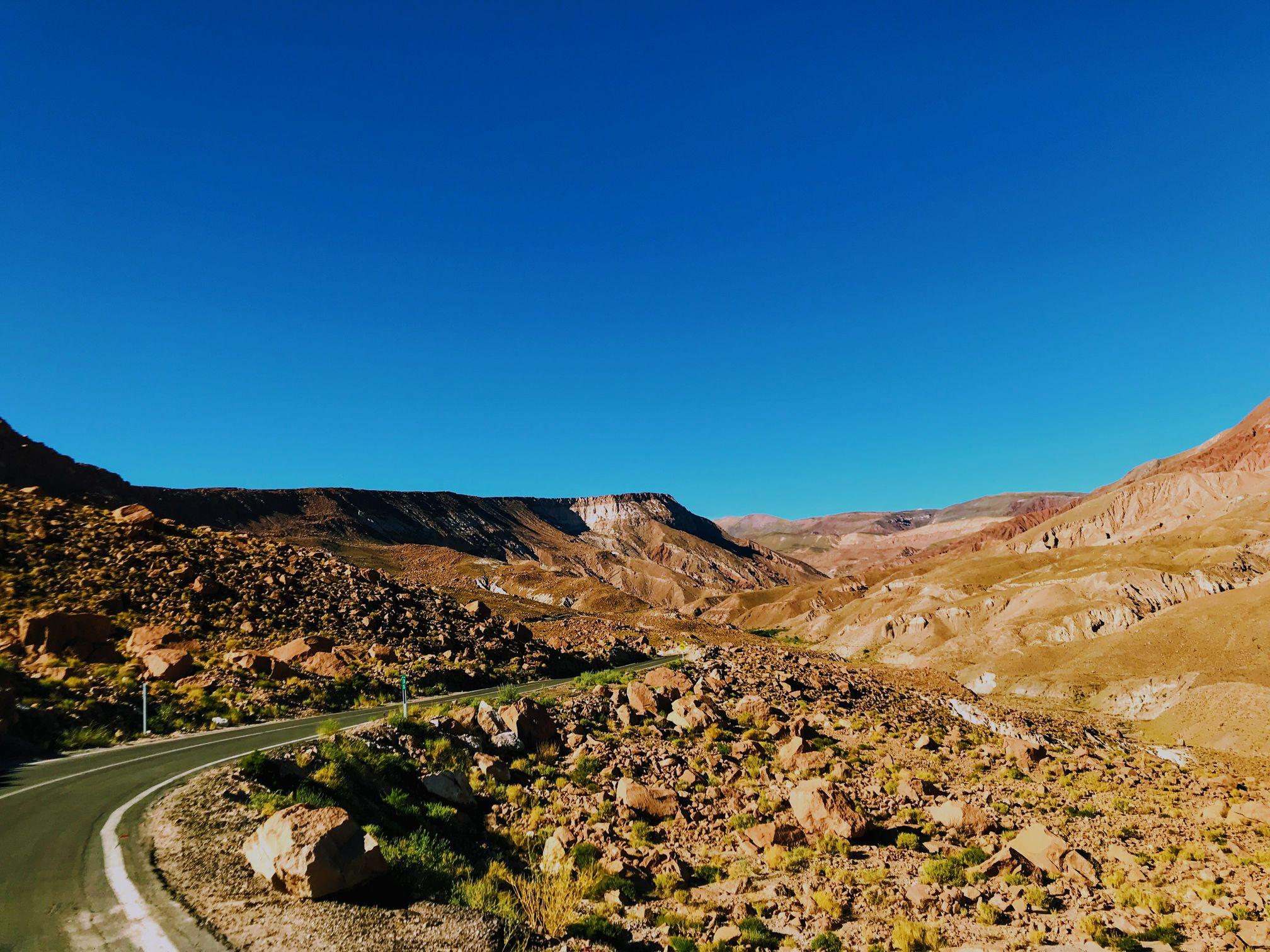 Rainbow Valley, Atacama Desert