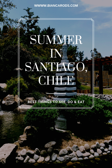 Summer in Santiago Things to Do