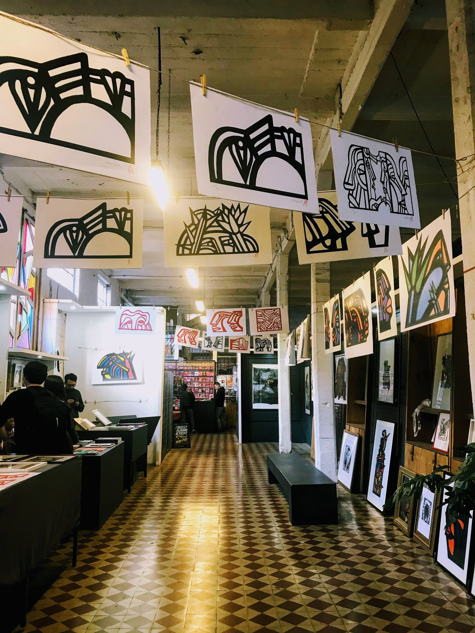 Mono Art Gallery in Barrio Franklin