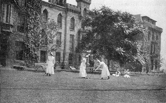 Photograph from  The Aims and Activities of the School of Nursing , Roosevelt Island Historical Society