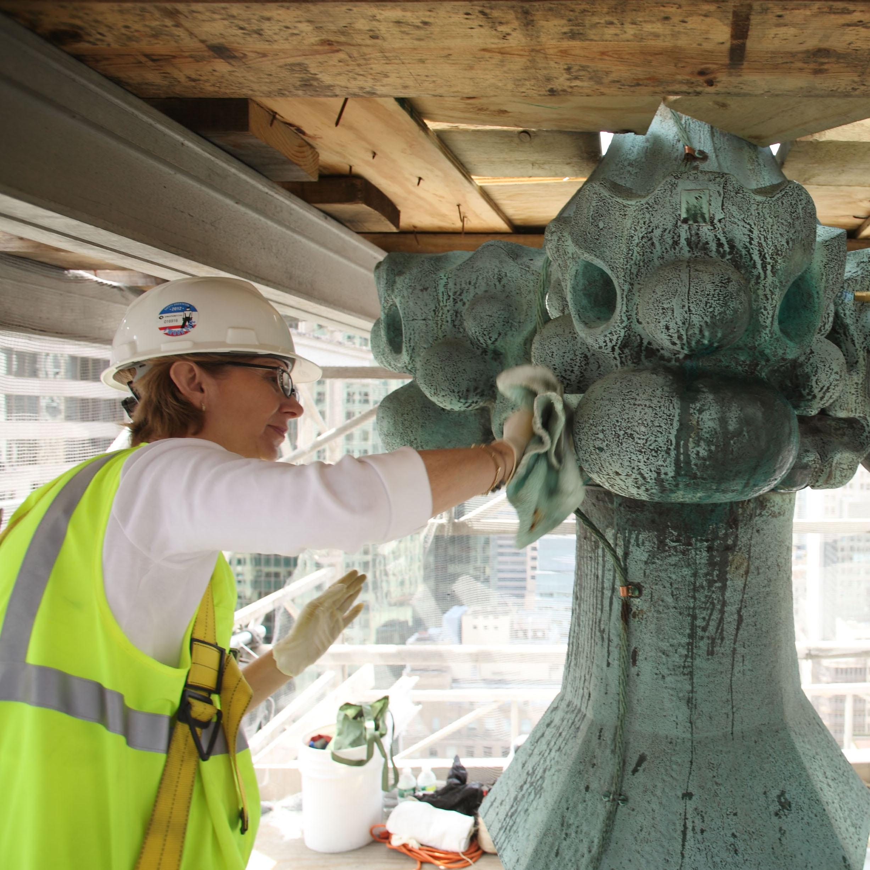 C Exterior copper cross repair - WC.jpg