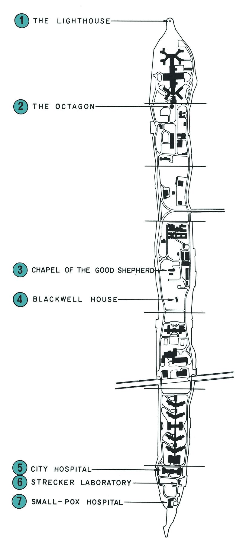 Map drawn by Cavaglieri,  Protection of Landmark Buildings