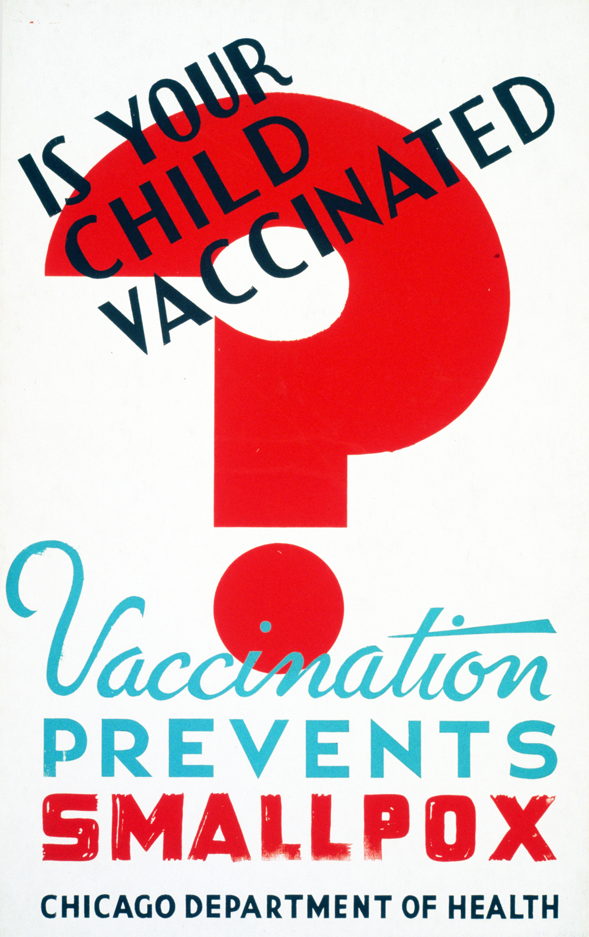 U.S. Health Department Campaign to encourage vaccination, Library of Congress