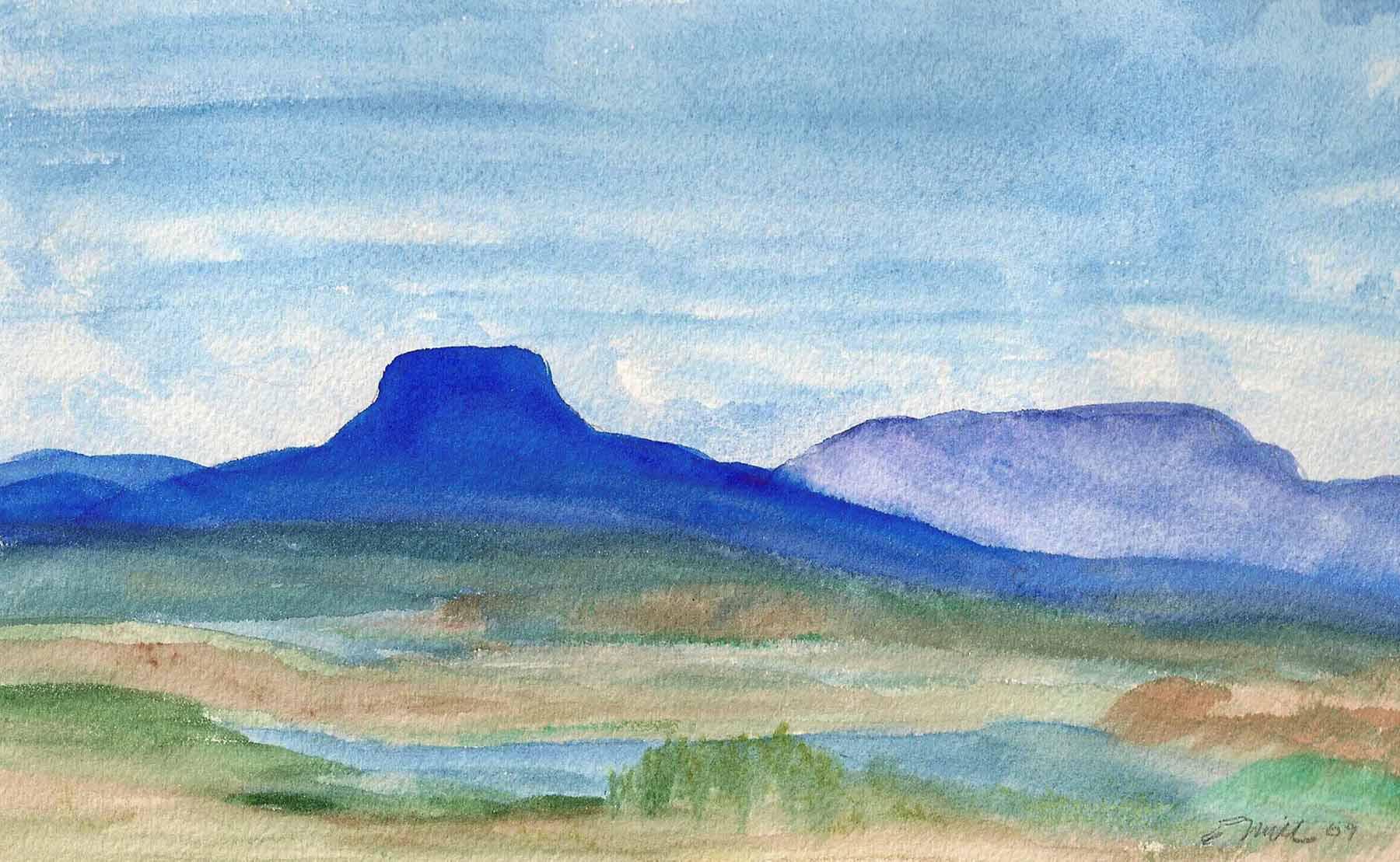 Georgia's Mountain