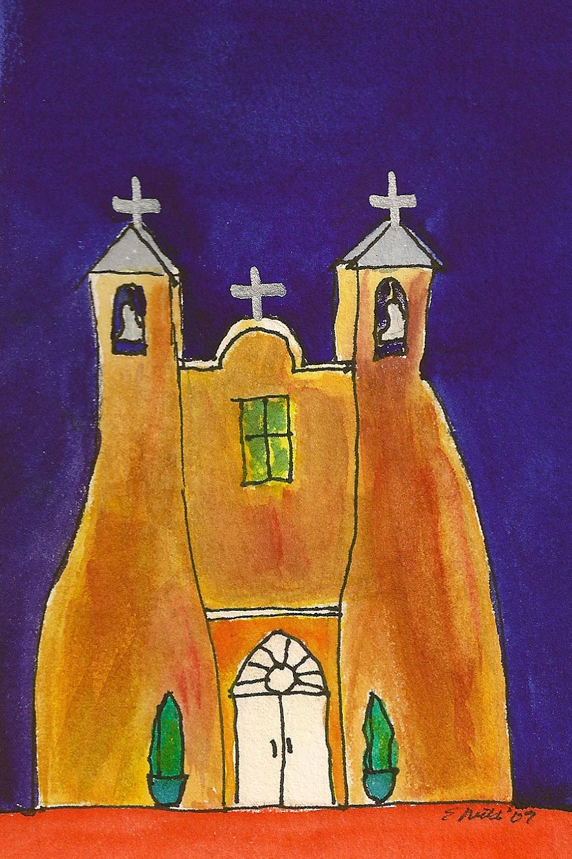 Church at Ranchos de Taos