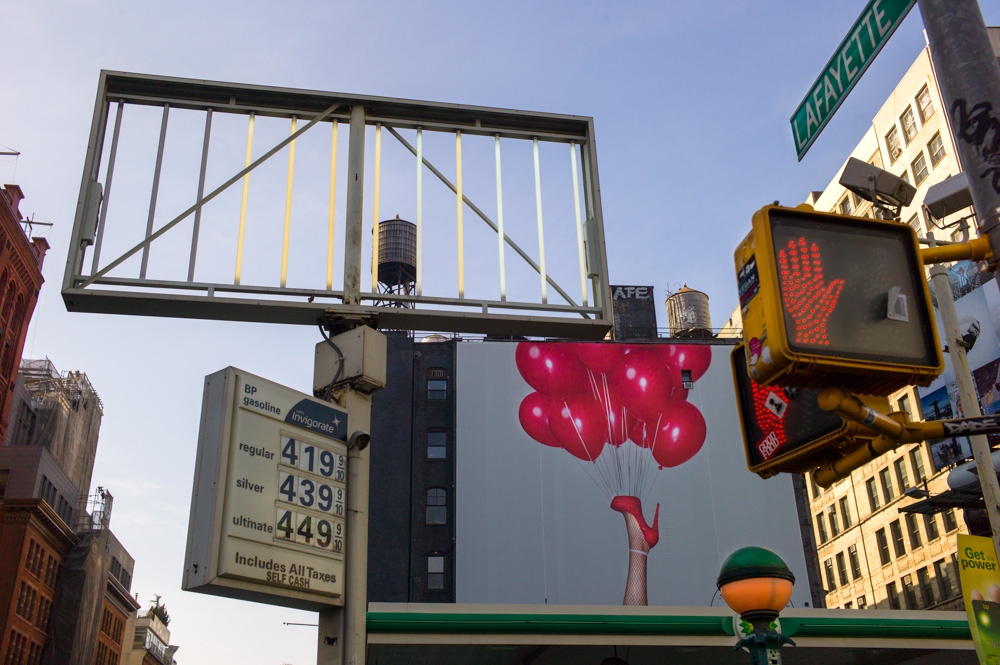 Balloons, Houston & Lafayette Sts., New York 2012