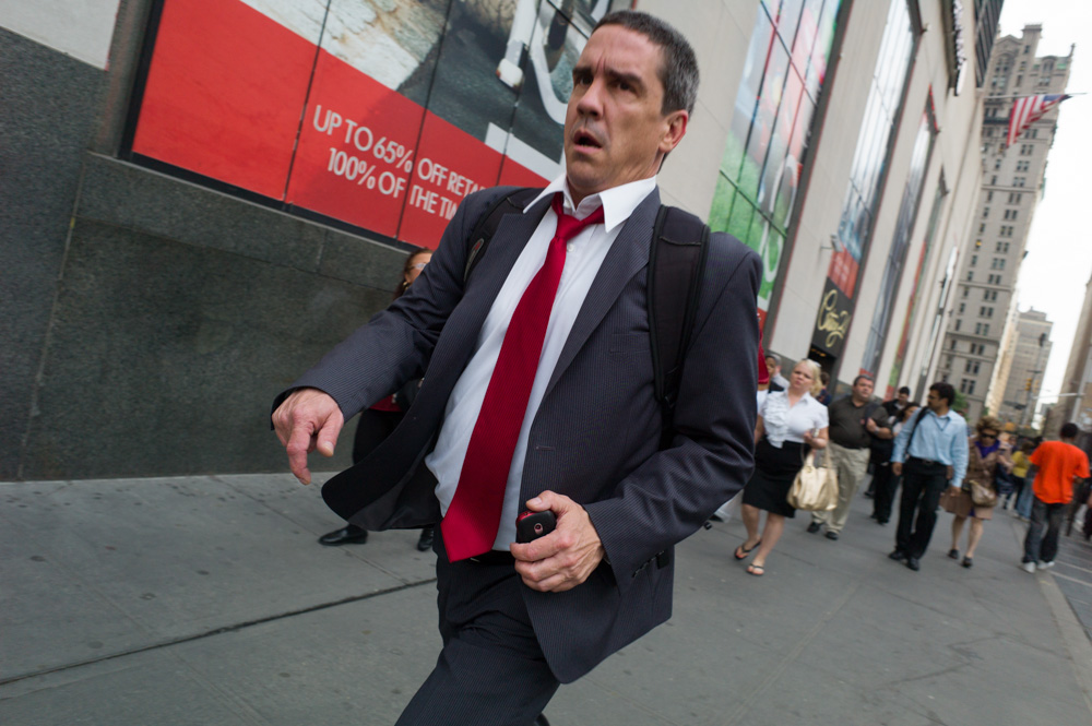 Red Tie, Church Street, New York 2012