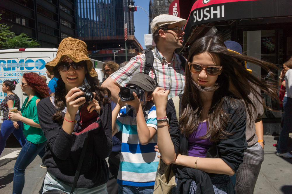 Sushi, Broadway & Cortlandt Street, New York 2012