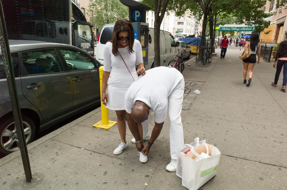 Tennis Whites, 14th Street, New York 2011