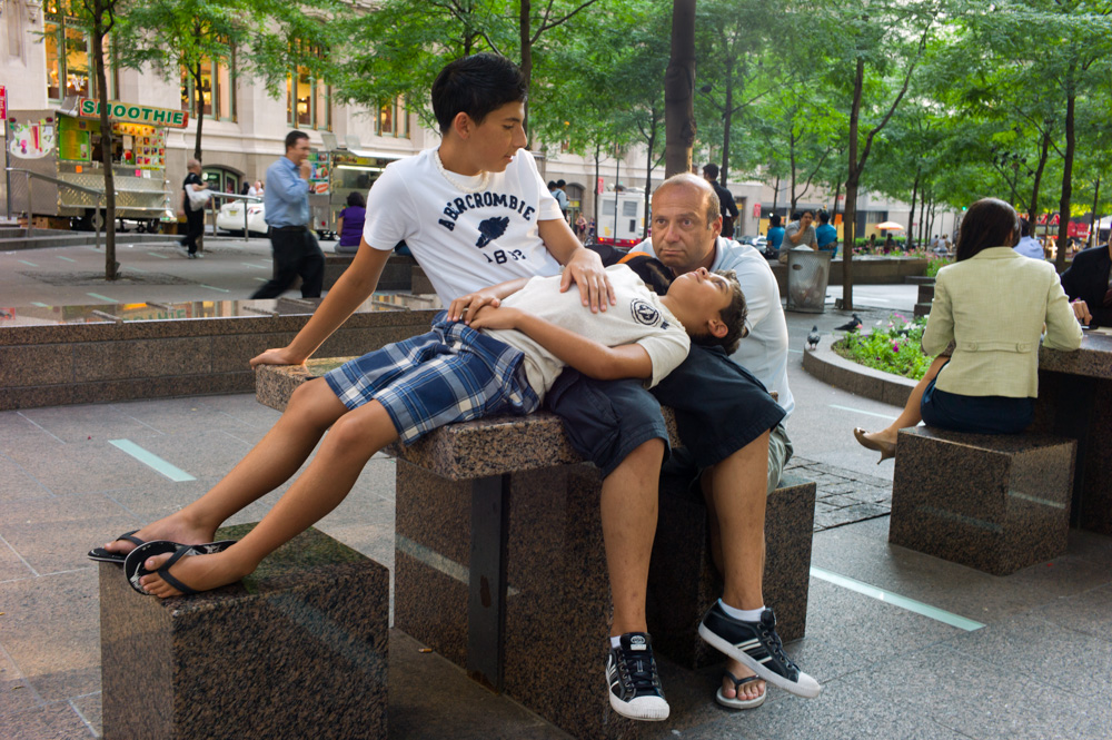 Zuccotti Park, New York 2011