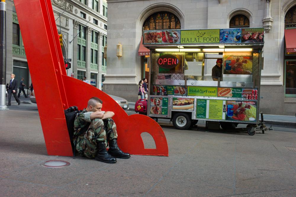 'Joie de Vivre,' Zuccotti Park, New York 2011