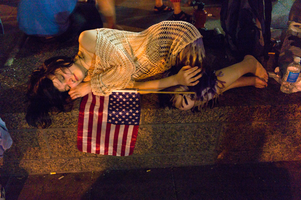 """dancing for five hours..."" Occupy Wall Street, New York 2011"