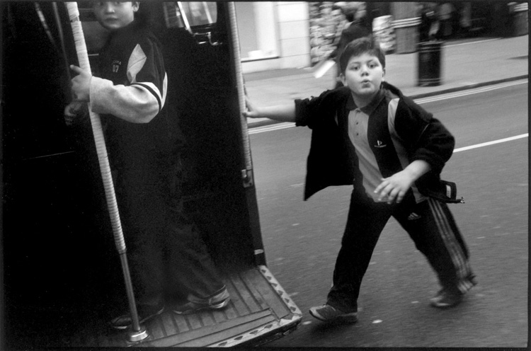 Bus Kid, London 2003