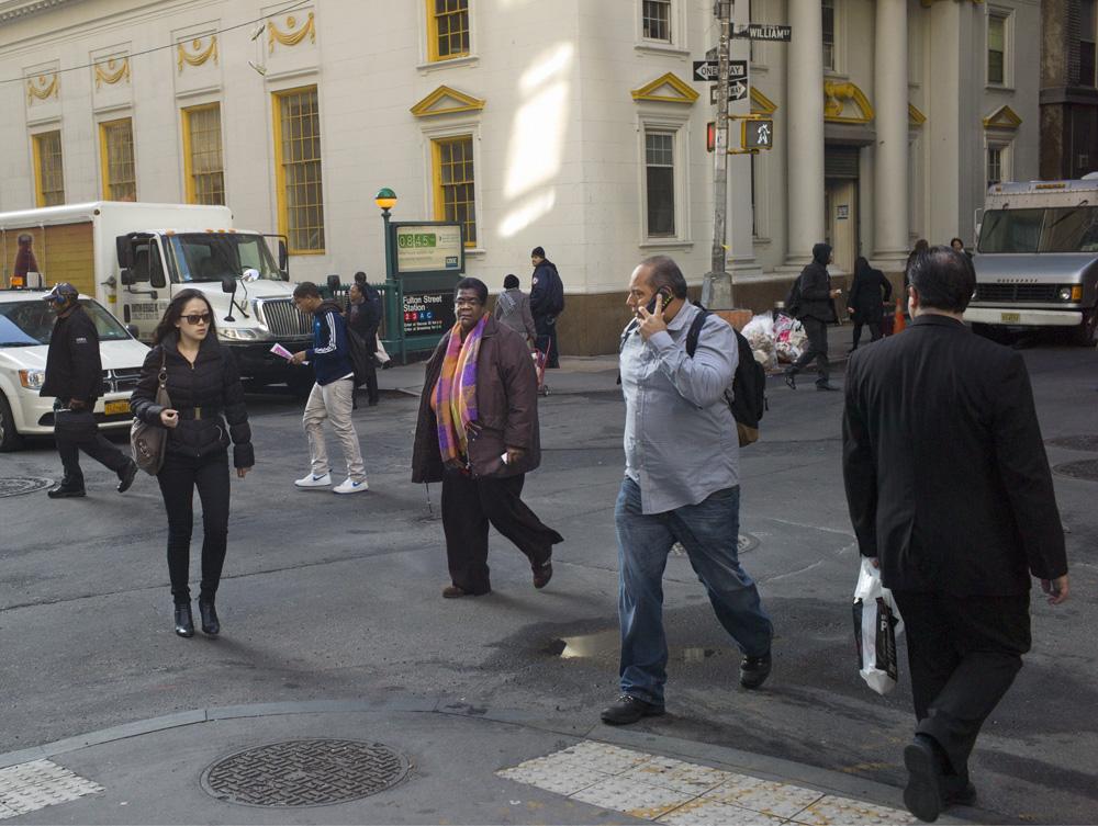 William & Fulton Streets, New York 2012