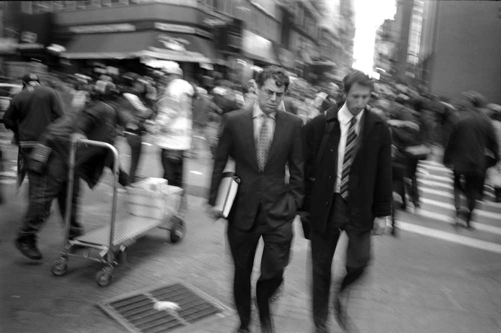 Nassau Street & Maiden Lane, New York 2009