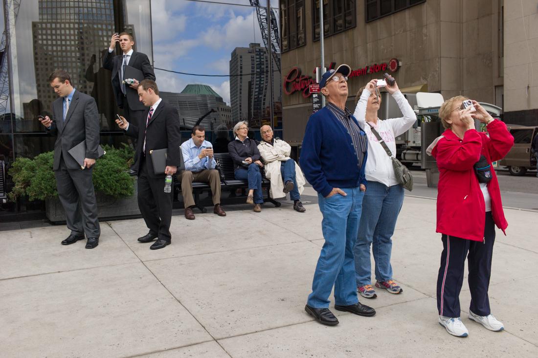Spectators, Ground Zero, 2011