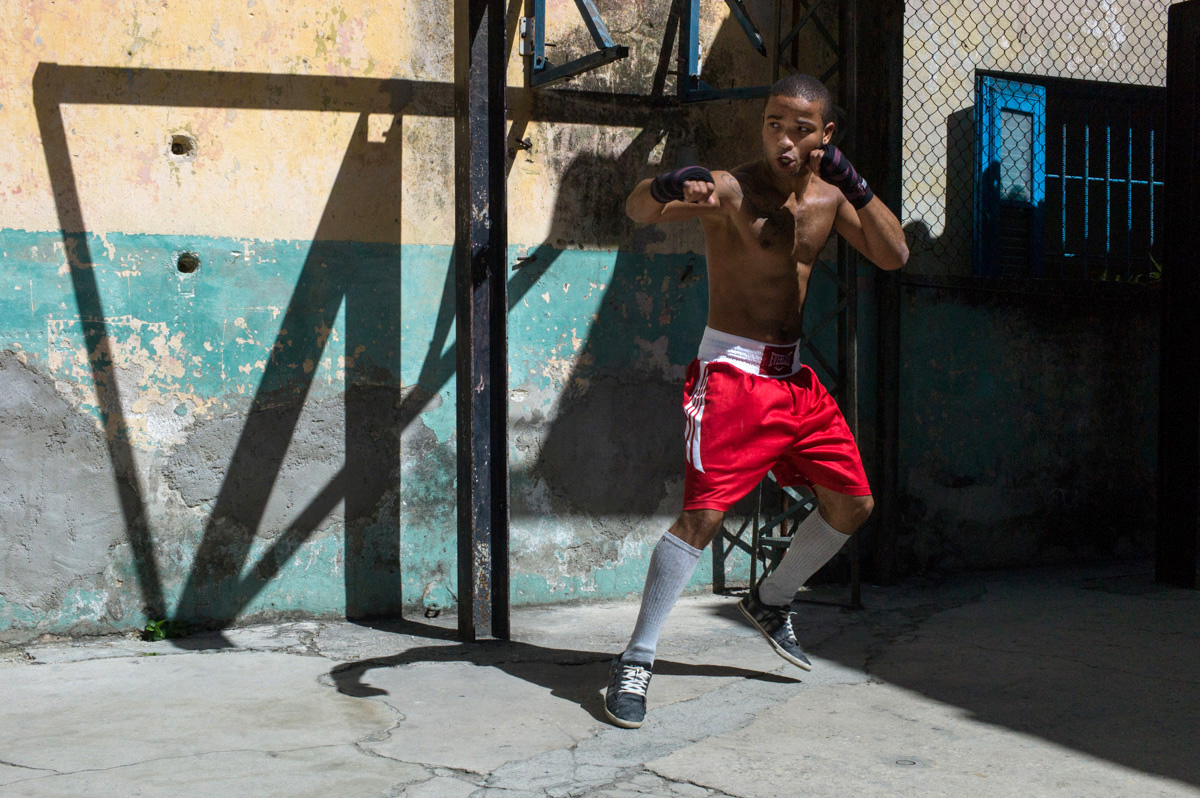 Boxing Gym, Havana, March 2016