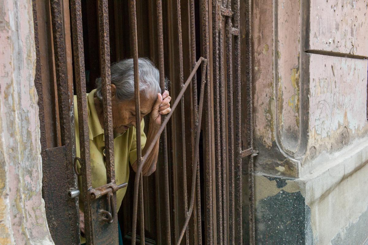 Iron Doorway, Havana, March 2016