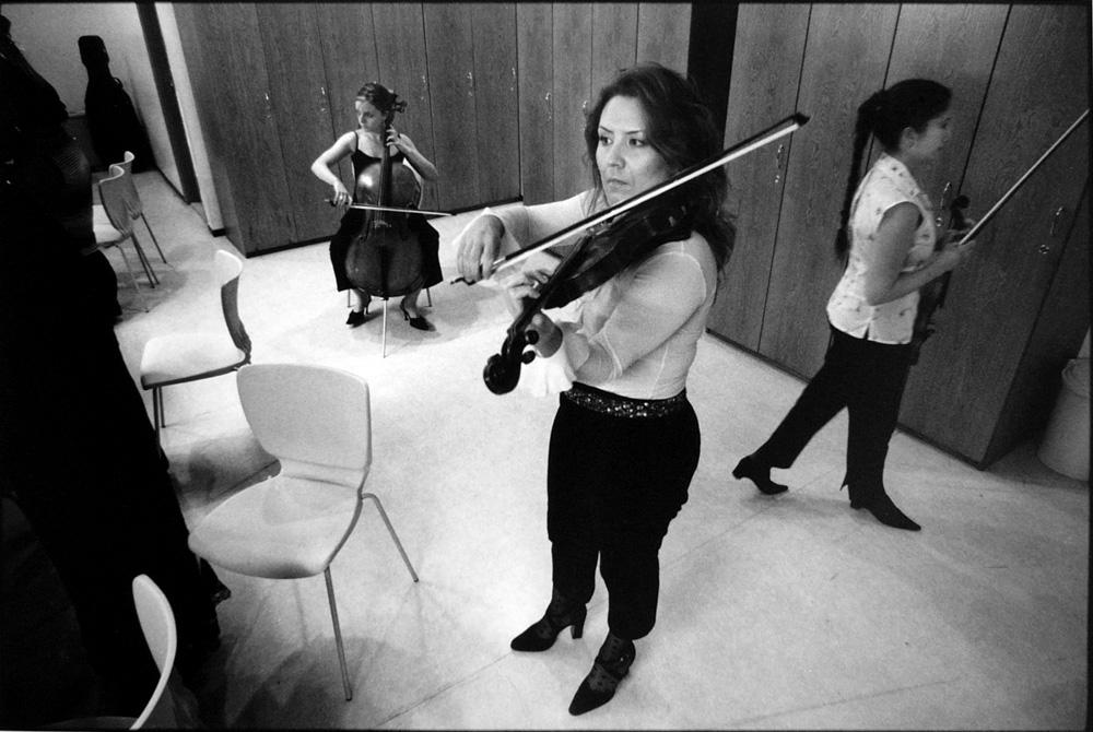 Green Room, Orkestr@ Modern, Ankara, Turkey 2003
