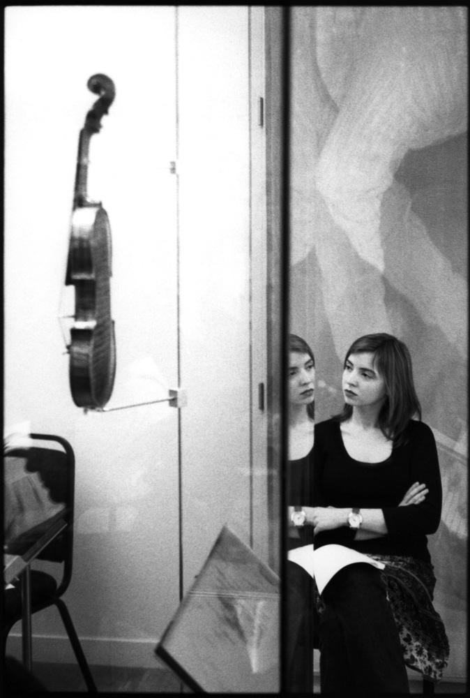 Composer Elena Langer, London 2004