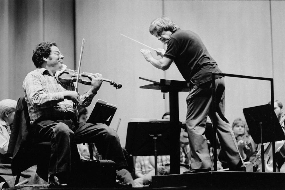 Itzhak Perlman & Lawrence Leighton Smith, 1987