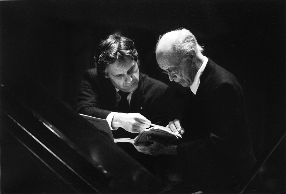 Lawrence Leighton Smith & Rudolf Serkin, 1986