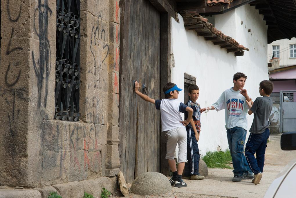 Kids, Prishtina, Kosovo, 2006
