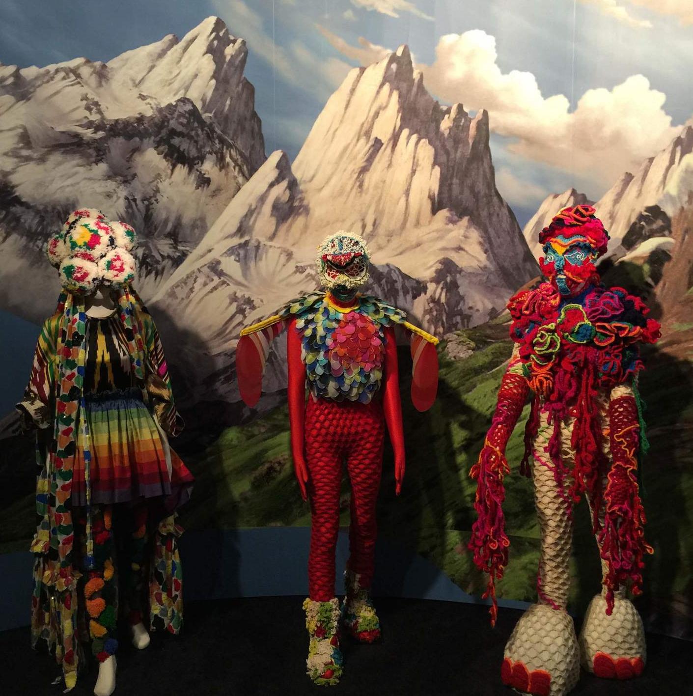 Costumes from the 2007 album  Volta .