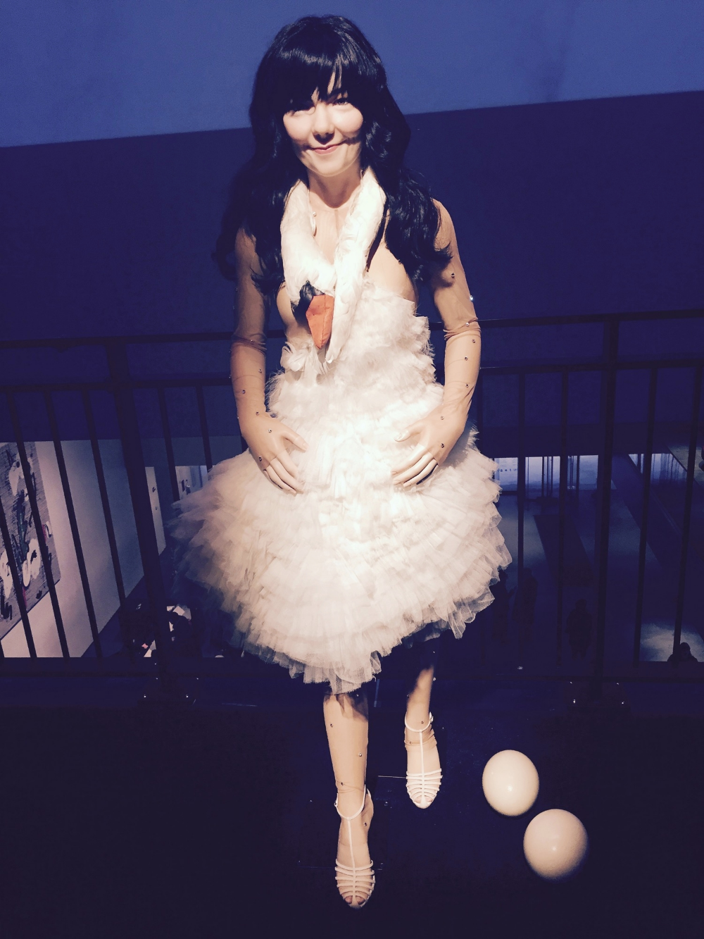 Björk's iconic swan dress she wore to the 2001 Academy Awards.