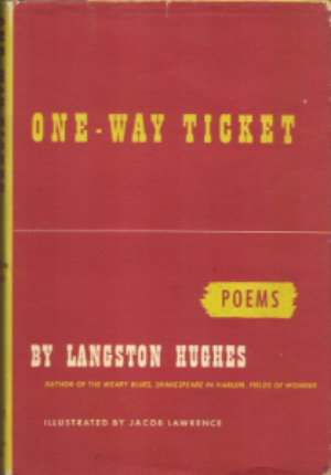 Jacob Lawrence illustrated Langston Hughes' book of poetry  One-Way Ticket  in 1948.