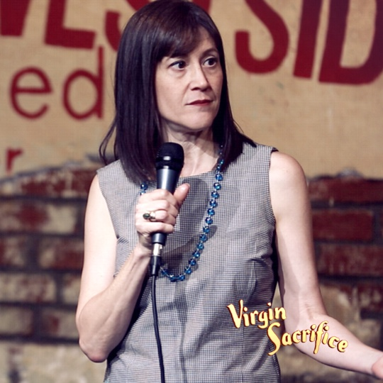 Betsy Salkind    ( Tonight Show, Last Comic Standing )     Click to watch Interview