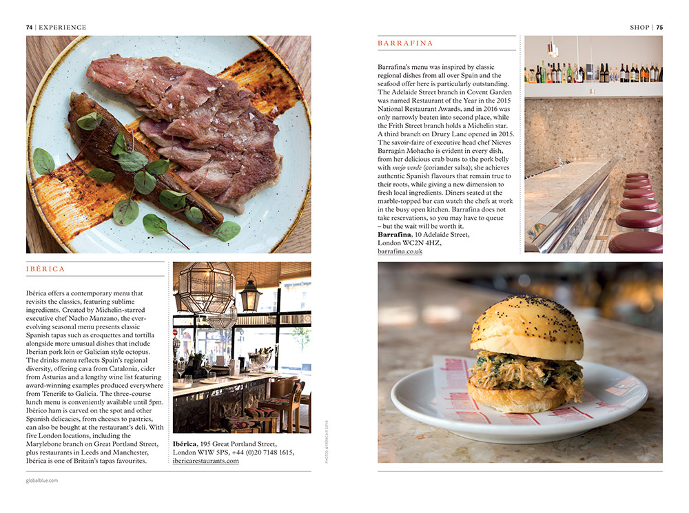 Best tapas in London x SHOP magazine - Monica R. Goya