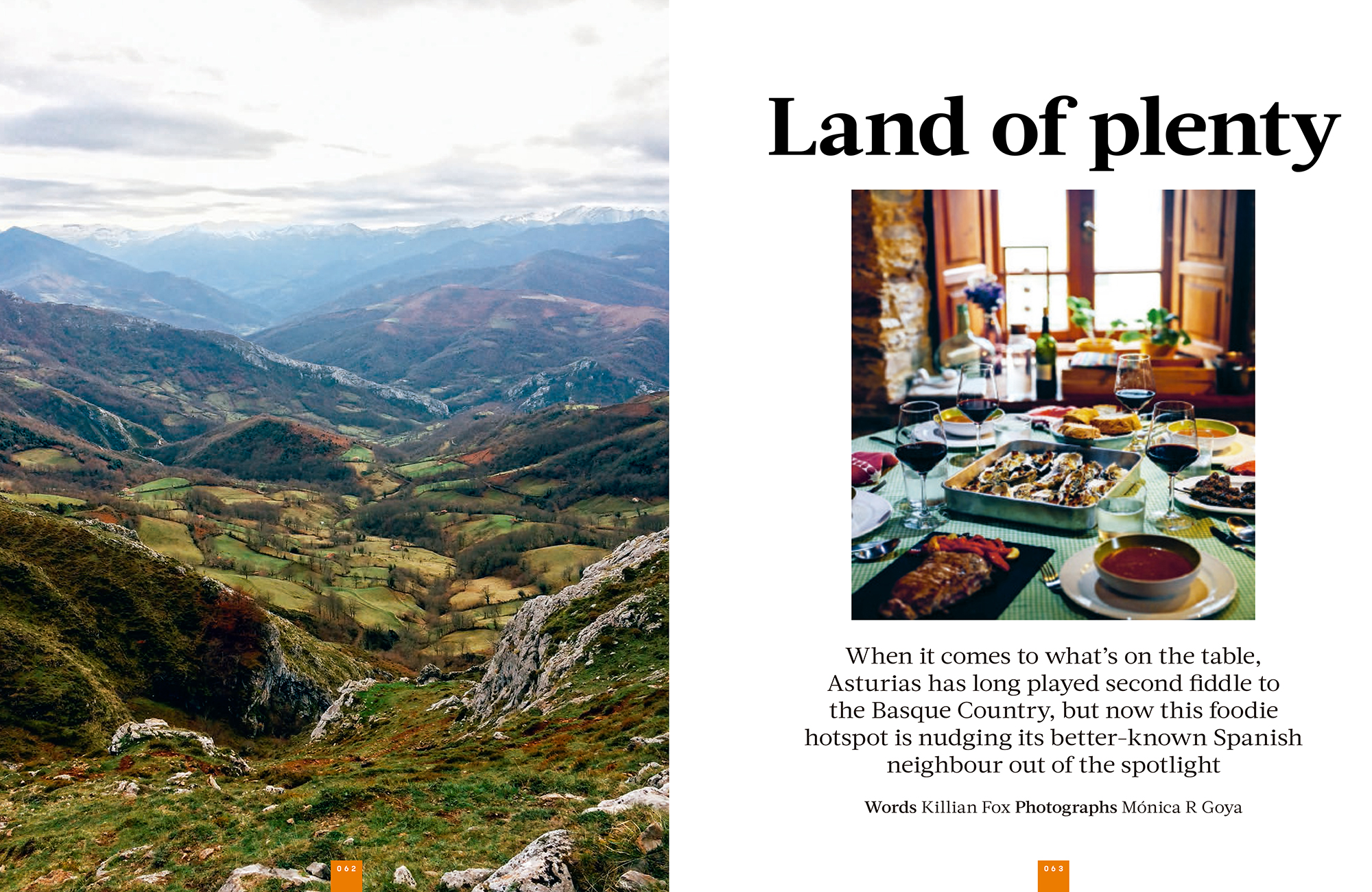 Asturias, Land of Plenty