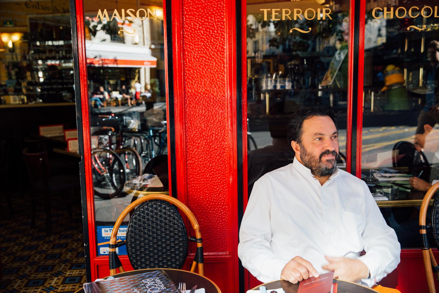 Yves Camdeborde in Paris - © Monica R Goya