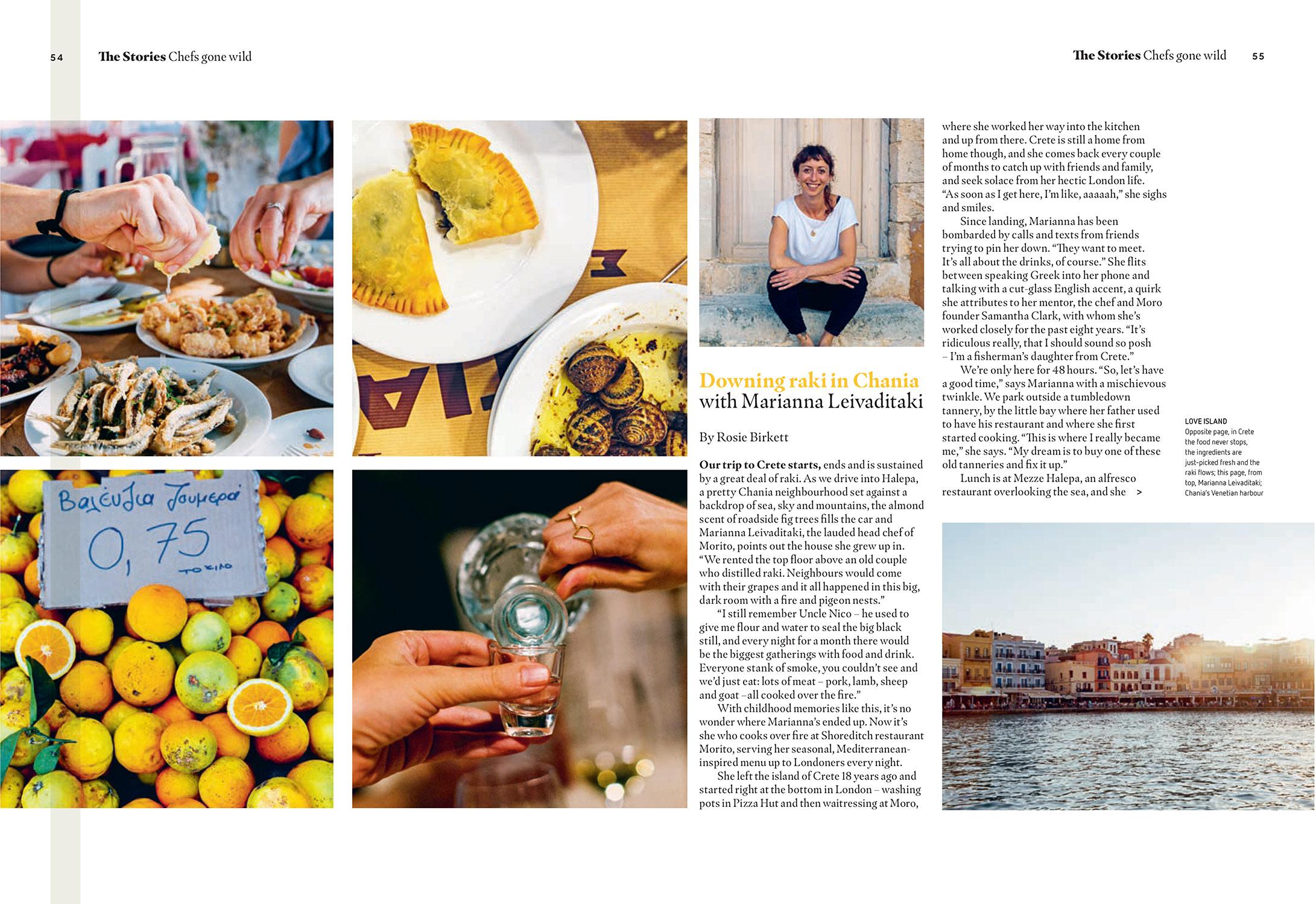 'Chefs Gone Wild' - easyJet Traveller November 2017 - photography